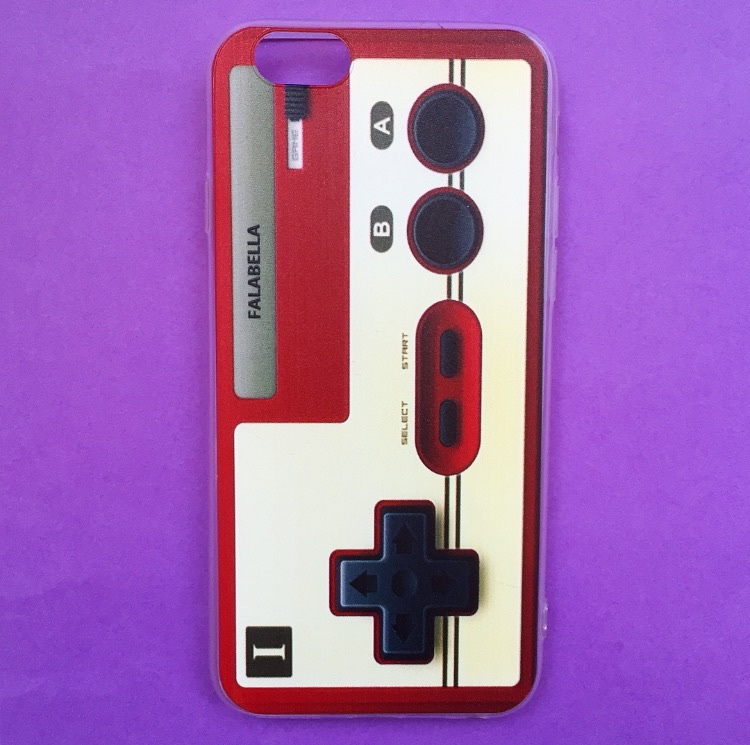 Controller White/Red Phone Case