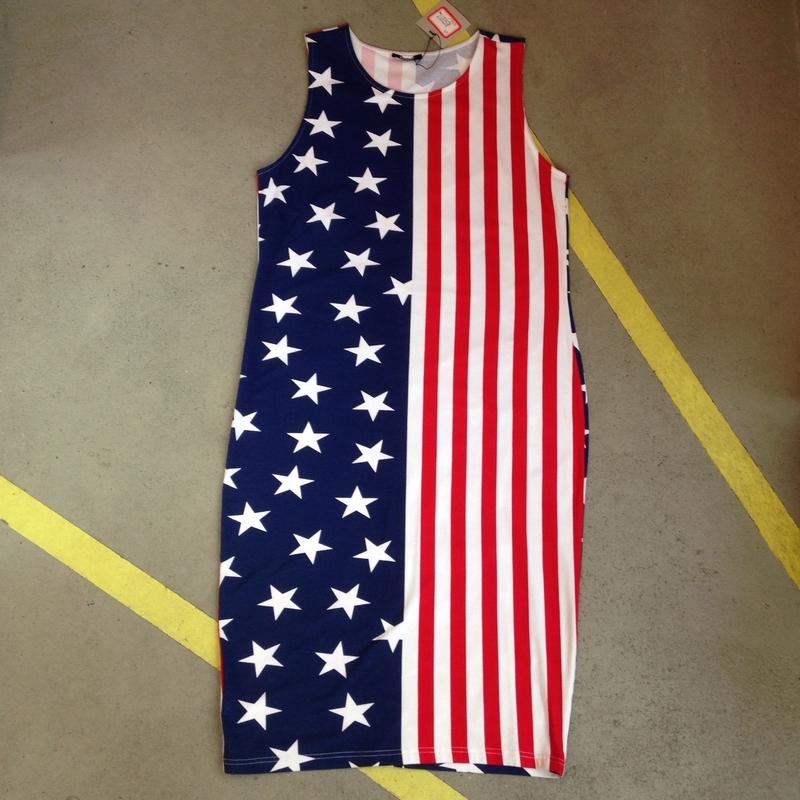 Stars & Stripes Kneelenght Dress