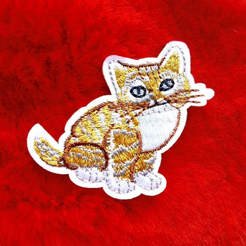 Ginger Cat Badge