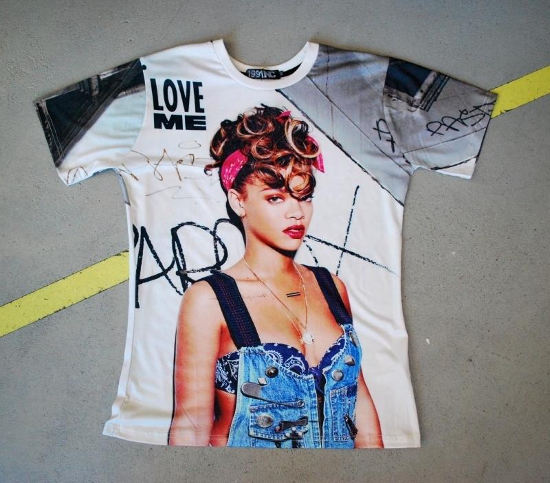 Rihanna Photoprint T-shirt
