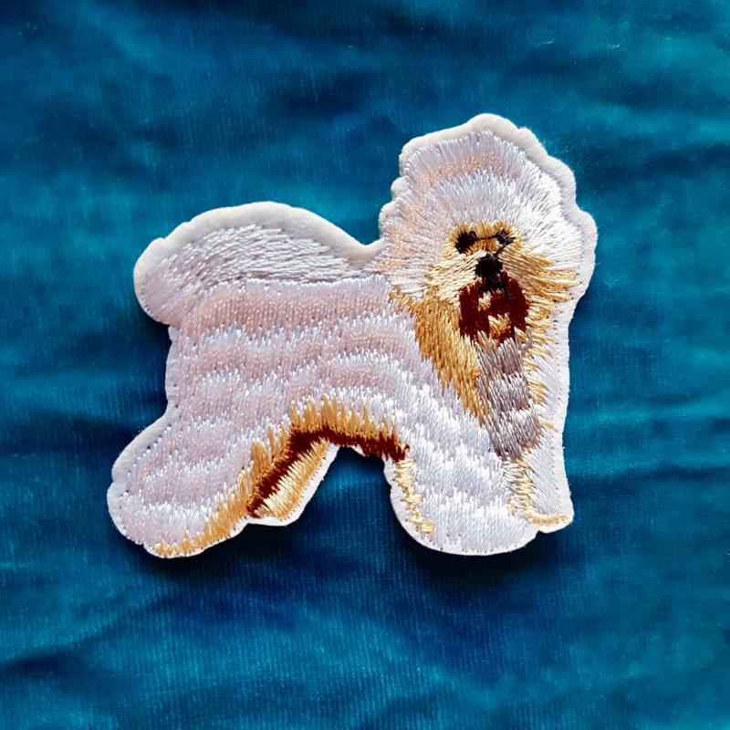Fluffy Dog Badge