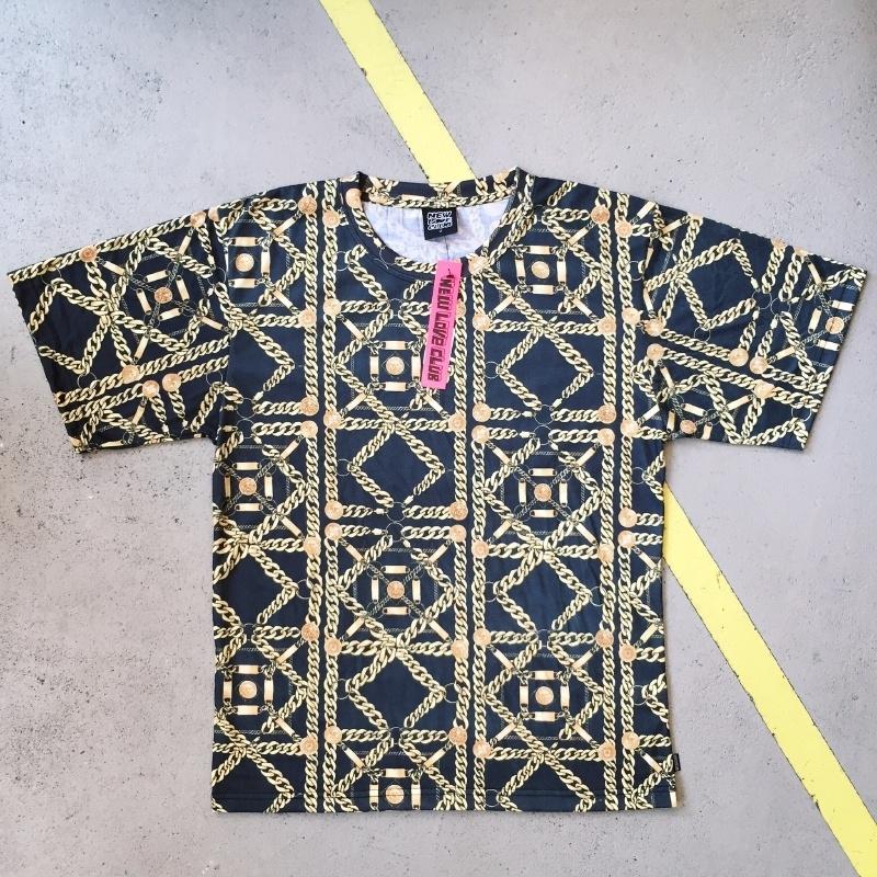 New Love Club Chainprint T-shirt Medium