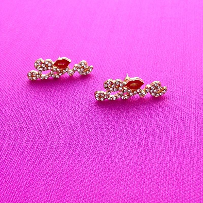 Love Earrings Small