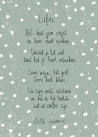 Little Universe print 'Liefde'