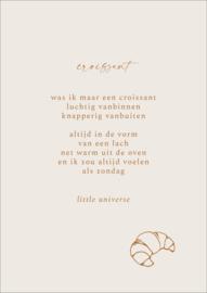 Print A4 'Croissant'
