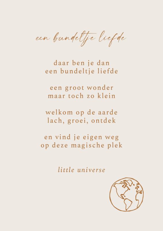 Print 'Een bundeltje liefde'