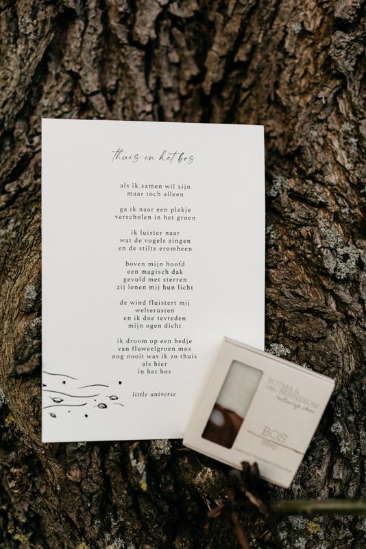 Cadeaupakket 'Thuis in het bos'