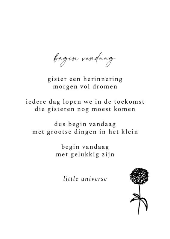 Kaart 'Begin vandaag'