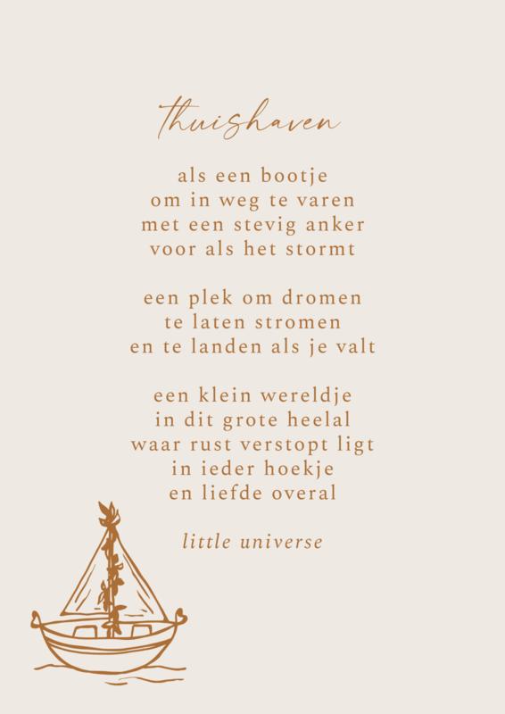 Print 'Thuishaven'
