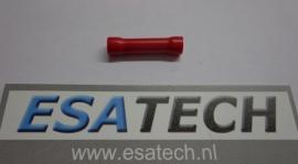Kabelverbinder PRR545, rood, lang, geisoleerd, per 10 st.