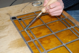 Glas in Lood / Tiffany soldeerbout G08 100W 230V IFA 100% NL product
