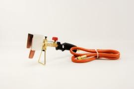 Soldeerbrander met soldeerbout