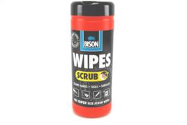 Bison Scrub Wipes / reinigingsdoekjes 40 stuks