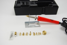 Weller Houtbrandpen en piepschuim snijder/mes 30W 230V