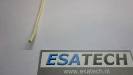 Elektrisch isolerende Glaskous 2mm temp. 450 graden per meter