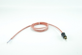 Siliconensnoer 1,5 meter met Hella plug