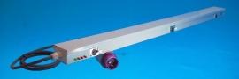 IFA kabelgoot 1 meter met 3x XLR aansluiting en CEE stekker