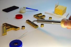 IFA soldeerbout A09 80W 24V met hittebestendig siliconensnoer en XLR stekker, 100% Nederlands product
