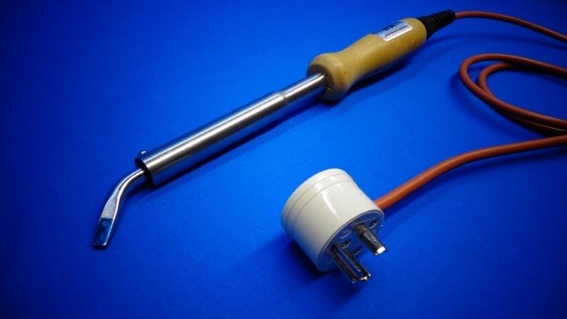 IFA soldeerbout A09 80W 24V met hittebestendig siliconensnoer en TERKO stekker, 100% Nederlands product