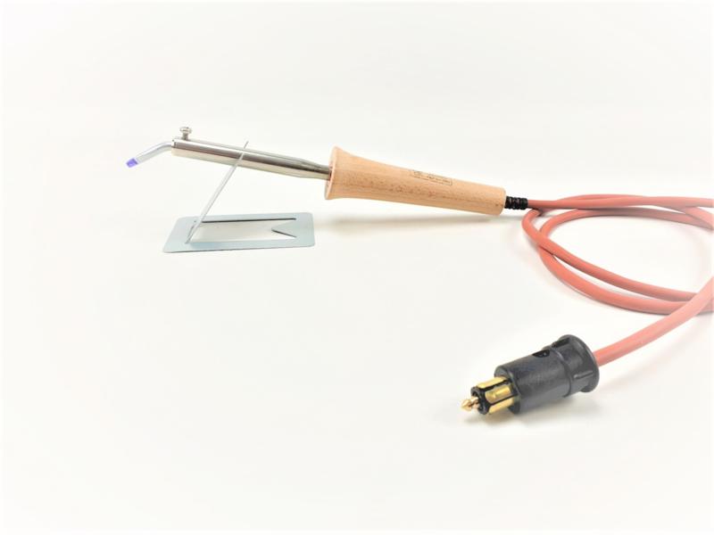 IFA soldeerbout A06 50W 24V met hittebestendig siliconensnoer en Hella stekker, 100% Nederlands product