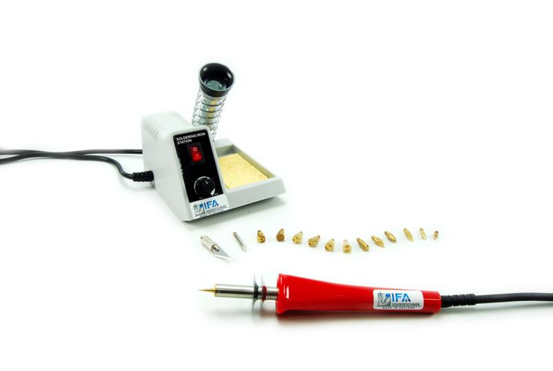 IFA W03 30W 230V temp. geregeld brandapparaat/soldeerbout