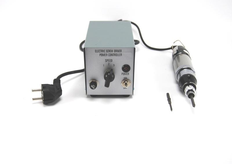 Elektrische schroevendraaier set  voor professioneel of hobby gebruik