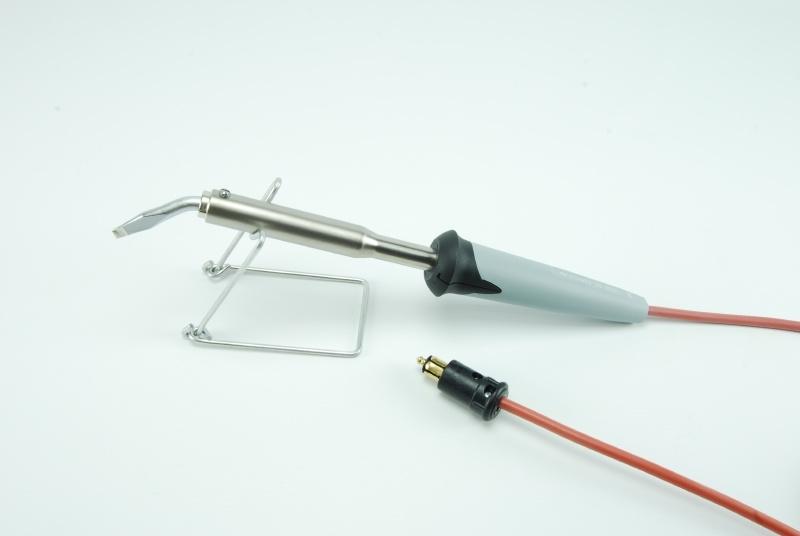 Ersa soldeerbout 80W 24V met hittebestendig siliconensnoer en Hella Stekker