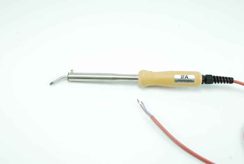 IFA soldeerbout A06 50W 24V met hittebestendig siliconensnoer, zonder stekker, 100% Nederlands product
