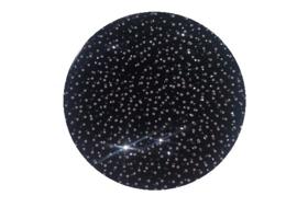Haarnetje Zwart Glitter