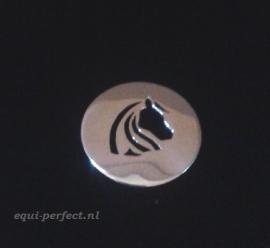 Zilveren hanger paard