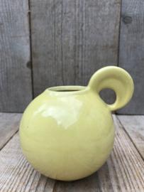 Potterie Kennemerland Art Deco bolvaasje geel