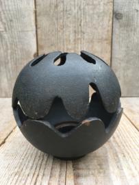C & C Holmgren cast iron Pumpkin kandelaar