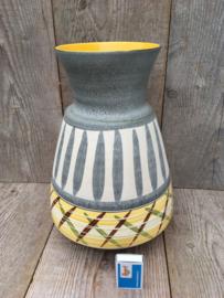 Bay Keramik vloervaas geelgrijs 524-30