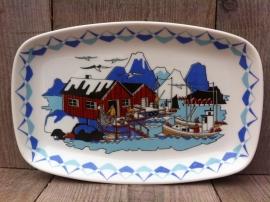 Figgjo Norway schaal Torskefiske