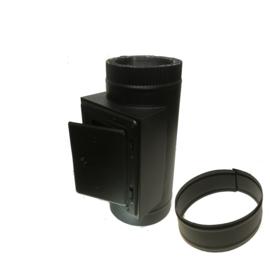 DW200/250 inspectieluik element - Zwart