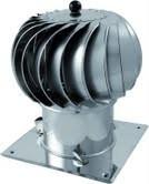 Turbowent met bodemplaat 150mm #WN-TU150CHCH