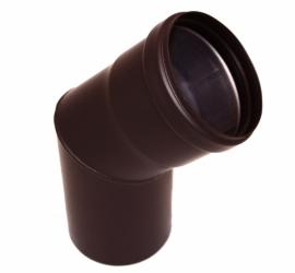 Pelletkachel bocht 45° ∅ 80mm