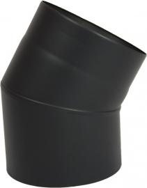 EW/150 Bocht 30 graden Kleur: zwart #DUN60016