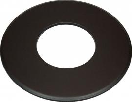 EW/150 Rozet Groot 9cm (Kleur: Zwart) #TER15-630