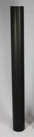 EW/Ø150mm Kachelpijp 100cm zonder verjonging Kleur: grijs #DUN600205