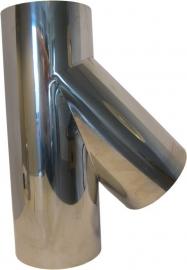 Thermokrimp Ek Ø120mm  - T-stuk 45° met deksel #EK120007
