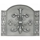 Haardplaat Louis XIII gietijzer klein #DH512245a