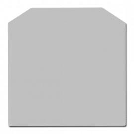 Nr 32-801 2mm Staalvloerplaat zeskant - Antraciet 1000 x 1000