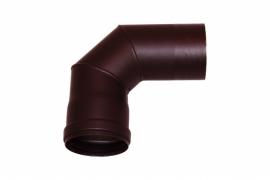Pelletkachel bocht 90° ∅ 80mm