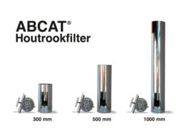 ABCAT® houtrookfilter Ø150 Lengte 300mm