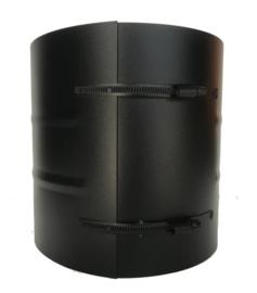 Klemband breed Ø150-200mm zwart