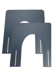 Brandseparatieplaat hellend Ø100-150mm