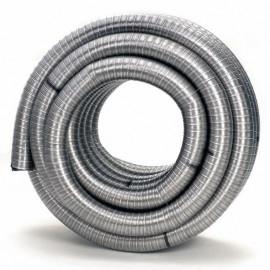 Flexibel Enkelgedraaid Ø100mm pijp 100cm