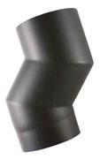 EW/150 2mm Element om kachel naar voren te halen (8cm) -  Zwart