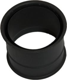 EW/Ø200 2mm Nisbus dubbelwandig (zwart)